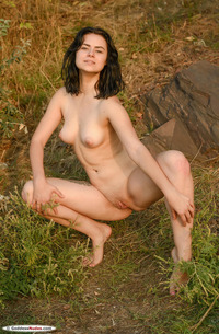 Silver Leen Nude Outdoors