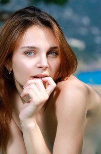 Cute Russian Beauty Olga Rich