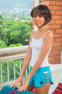 Teen Latina Antonella Campos
