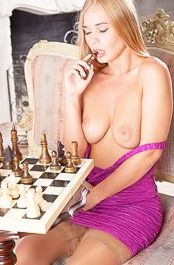 Gorgeous Russian Blonde Sarika A