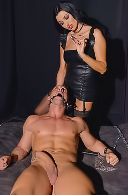 Ania Kinski In BDSM Humiliation